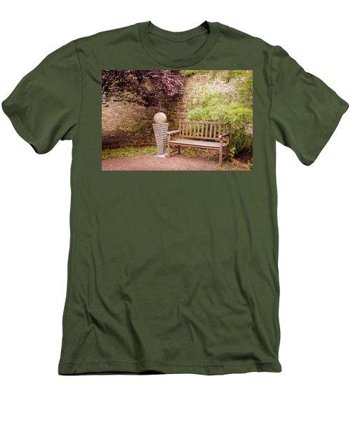 Zen Garden Men's T-Shirt (Athletic Fit)