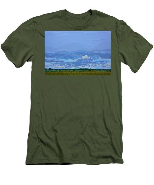 Zen Sky Men's T-Shirt (Athletic Fit)
