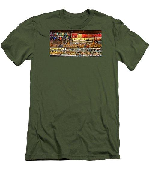 Zingermans Deli Ann Arbor  5046 Men's T-Shirt (Slim Fit) by Jack Schultz