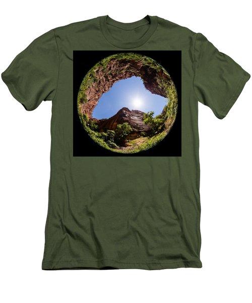 Zion Fisheye 1464 Men's T-Shirt (Slim Fit)