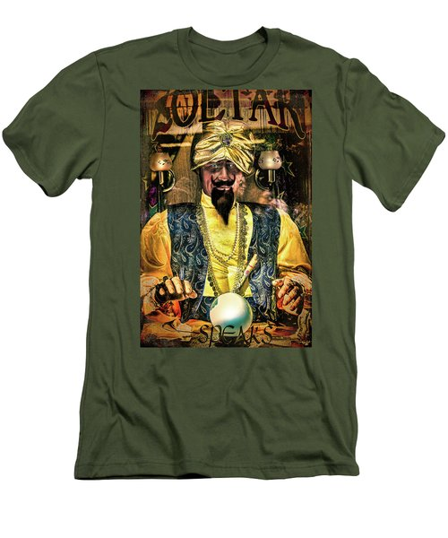Men's T-Shirt (Slim Fit) featuring the photograph Zoltar by Chris Lord