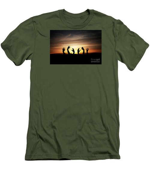 Zombie Apocalypse Men's T-Shirt (Athletic Fit)