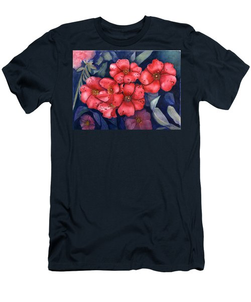 Dew Flowers Men's T-Shirt (Athletic Fit)