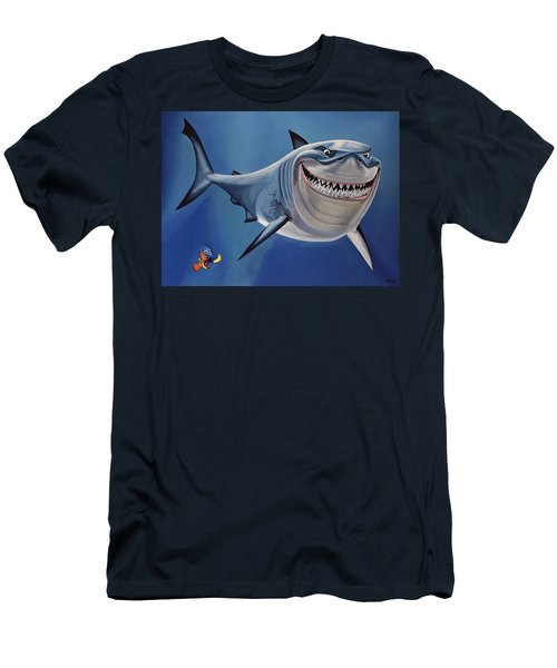 Finding Nemo Painting Men's T-Shirt (Athletic Fit)