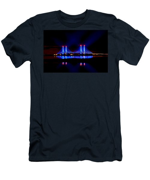 Reflecting Bridge - Indian River Inlet Bridge Men's T-Shirt (Athletic Fit)