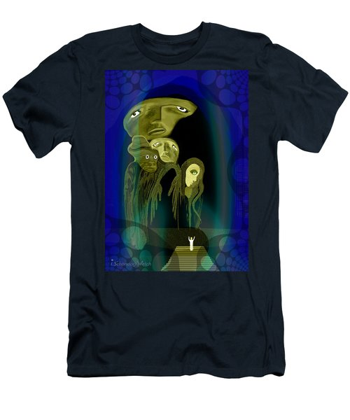 028 -  The  Arrival Of The Gods  Men's T-Shirt (Athletic Fit)