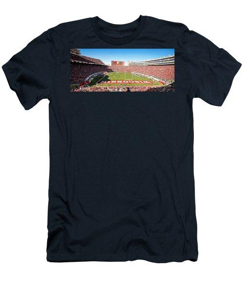 0812 Camp Randall Stadium Panorama Men's T-Shirt (Athletic Fit)