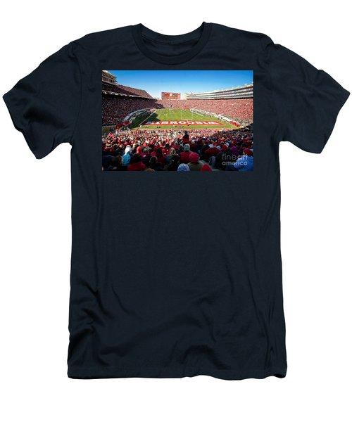 0814 Camp Randall Stadium Men's T-Shirt (Athletic Fit)