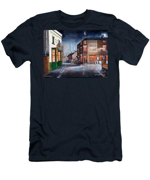 Black Country Village Centre Men's T-Shirt (Athletic Fit)