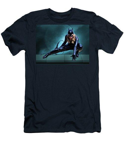 The Feline Fatale Men's T-Shirt (Athletic Fit)