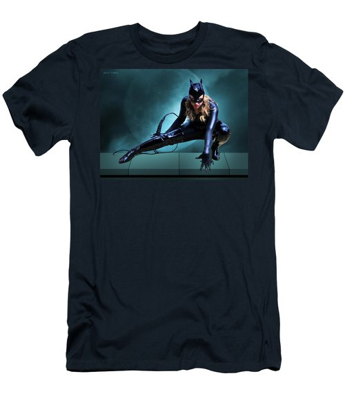 The Feline Fatale Men's T-Shirt (Athletic Fit)