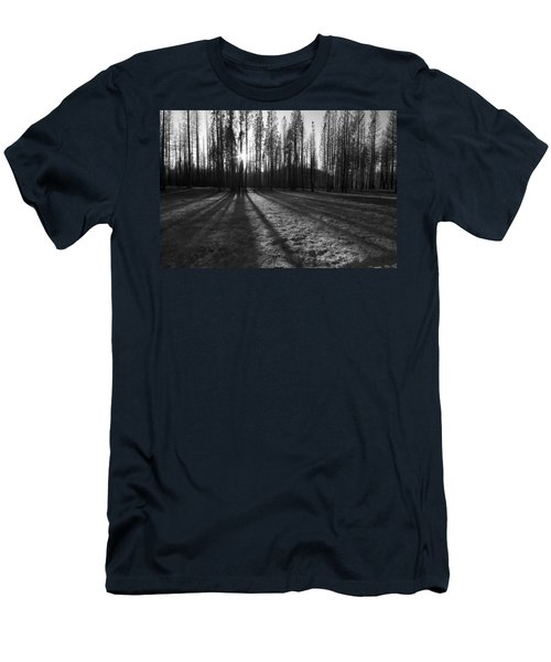 Charred Silence - Yosemite Rim Fire 2013 Men's T-Shirt (Athletic Fit)