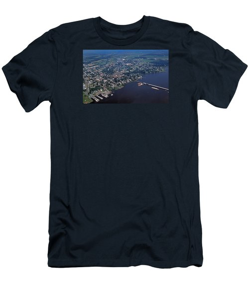 Chestertown Maryland Men's T-Shirt (Slim Fit) by Skip Willits