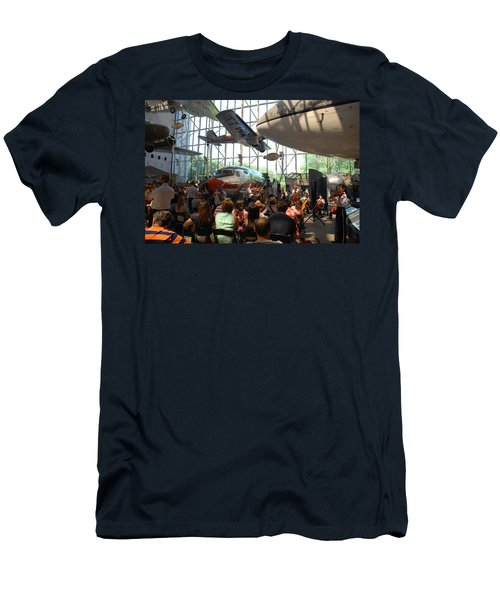 Concert Under The Planes Men's T-Shirt (Athletic Fit)
