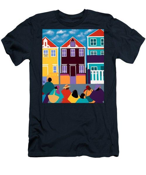 Curacao Dreams Men's T-Shirt (Athletic Fit)