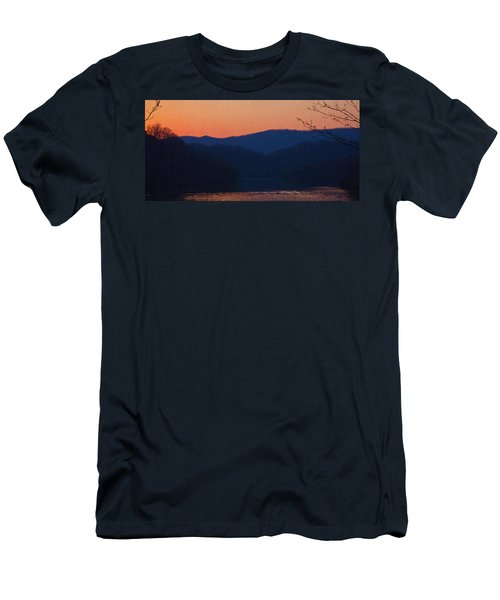 Days End Men's T-Shirt (Slim Fit) by Tom Culver