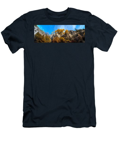 Men's T-Shirt (Slim Fit) featuring the photograph Guardians by David Andersen