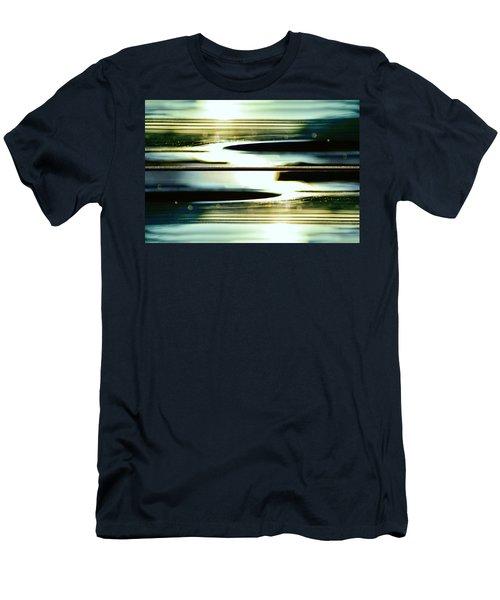 Guitar Galaxy Men's T-Shirt (Athletic Fit)