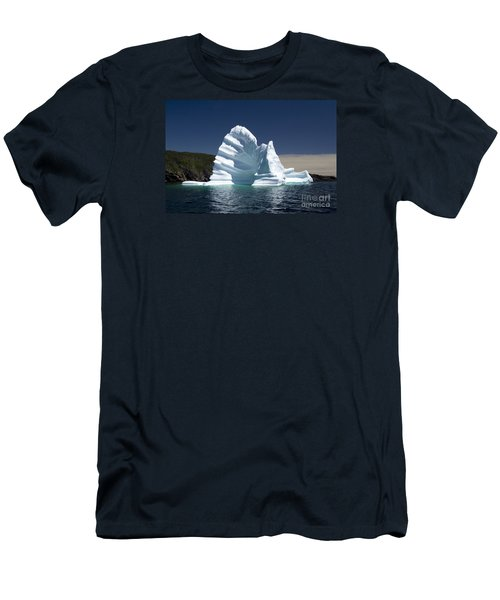 Men's T-Shirt (Slim Fit) featuring the photograph Iceberg by Liz Leyden