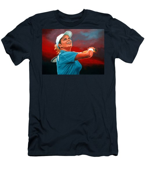 Kim Clijsters Men's T-Shirt (Athletic Fit)