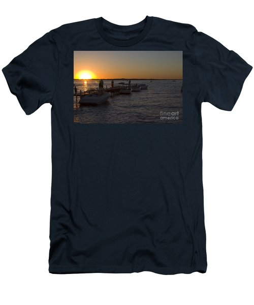Okoboji Nights Men's T-Shirt (Athletic Fit)