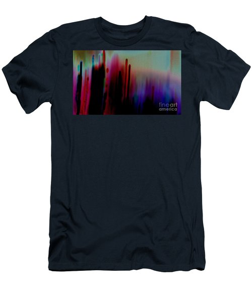 Men's T-Shirt (Slim Fit) featuring the photograph Pulse by Jacqueline McReynolds