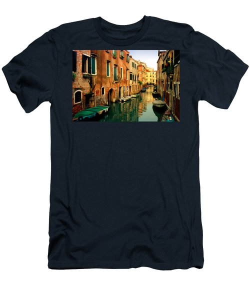 Reflections Of Venice Men's T-Shirt (Athletic Fit)