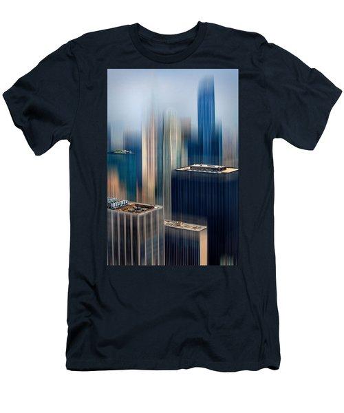Rising Metropolis Men's T-Shirt (Athletic Fit)