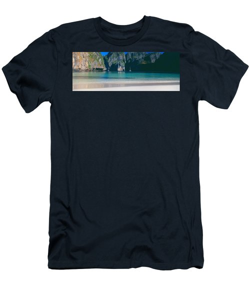 Rock Formations In The Sea, Phi Phi Men's T-Shirt (Athletic Fit)