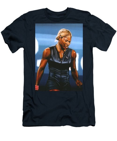 Serena Williams Men's T-Shirt (Athletic Fit)