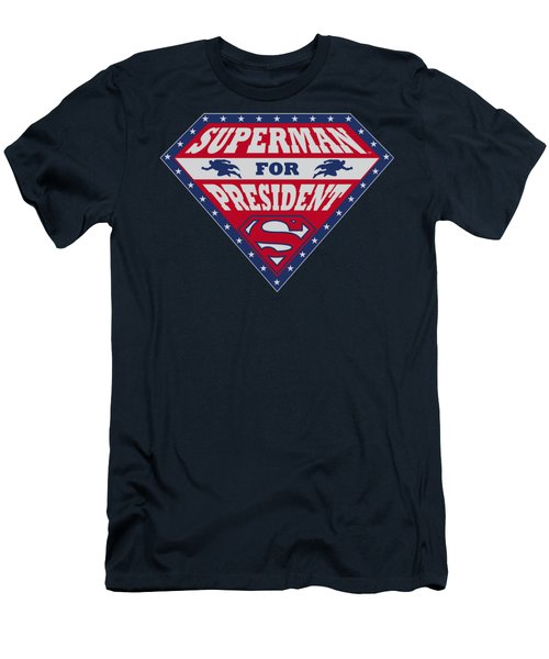 Superman - Superman For President Men's T-Shirt (Athletic Fit)