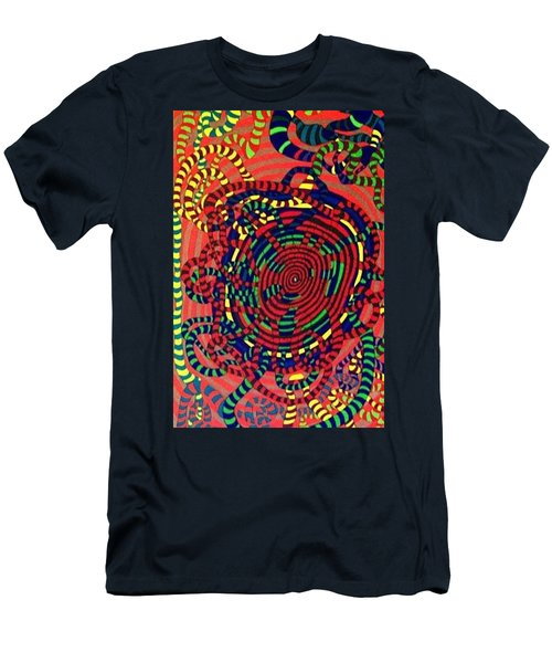 Men's T-Shirt (Slim Fit) featuring the painting Polar Shift. by Jonathon Hansen