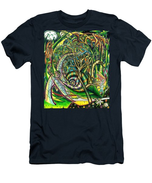 The Snail Men's T-Shirt (Athletic Fit)