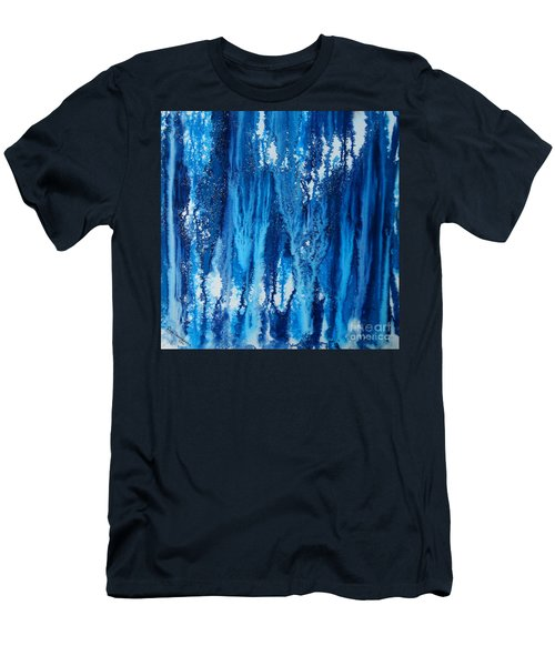 Snow Fall Men's T-Shirt (Athletic Fit)