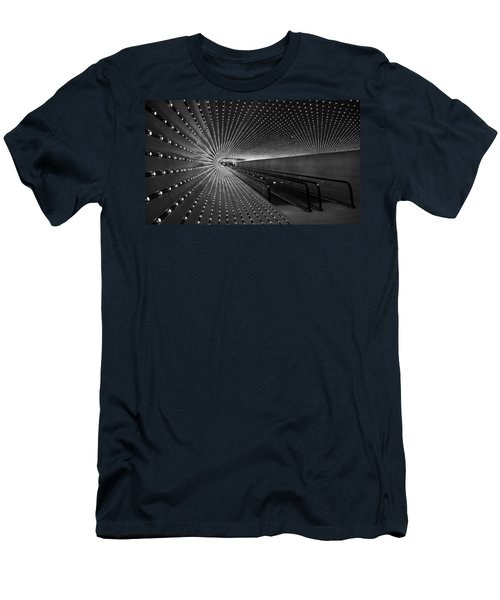 Men's T-Shirt (Slim Fit) featuring the photograph Villareal's Multiuniverse by Cora Wandel