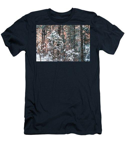 West Fork Snow Men's T-Shirt (Slim Fit) by Tam Ryan