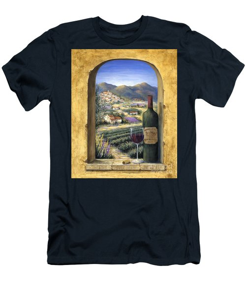 Wine And Lavender Men's T-Shirt (Athletic Fit)