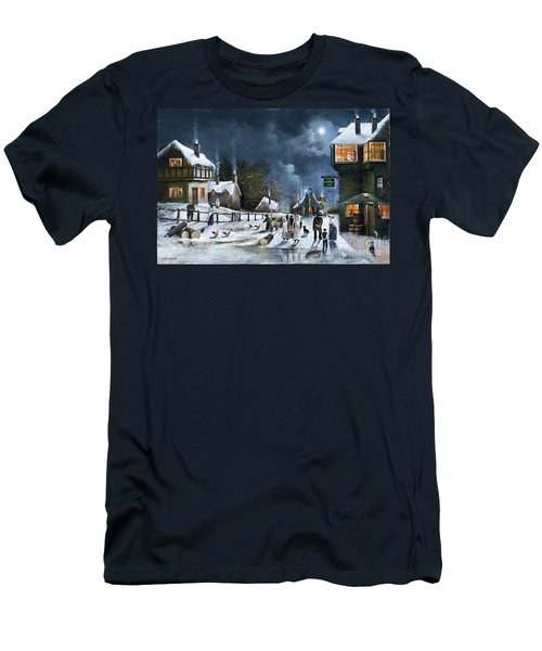 Winter Solstice Men's T-Shirt (Athletic Fit)