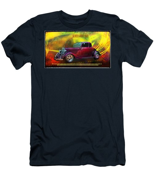 1934 Ford 5 Window Gennie Men's T-Shirt (Athletic Fit)