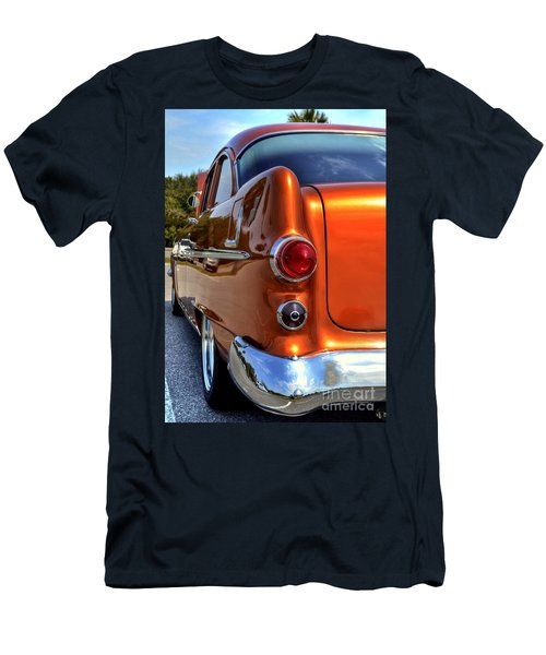 Men's T-Shirt (Slim Fit) featuring the photograph 1955 Pontiac by Kathy Baccari