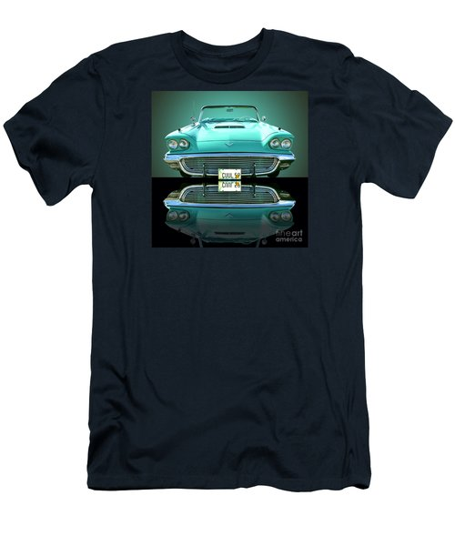 1959 Ford T Bird Men's T-Shirt (Slim Fit) by Jim Carrell
