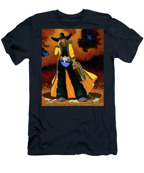 Bonnie Men's T-Shirt (Slim Fit) by Lance Headlee