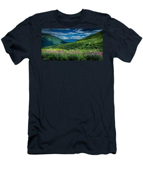 Hatcher's Pass Men's T-Shirt (Athletic Fit)