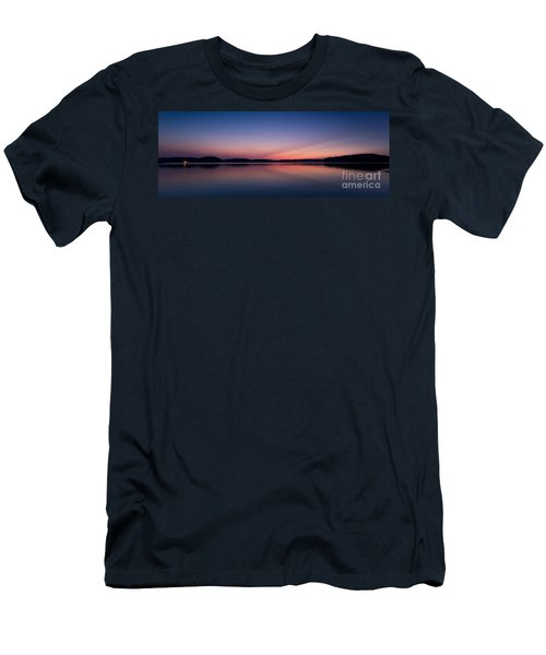 Lake Lanier After Sunset Men's T-Shirt (Athletic Fit)