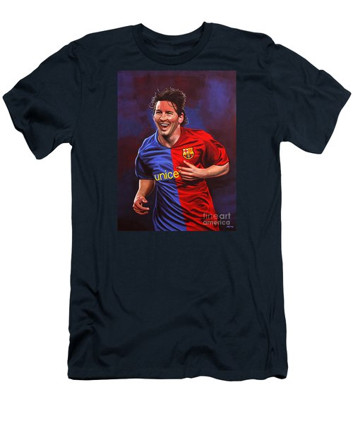 Lionel Messi  Men's T-Shirt (Athletic Fit)