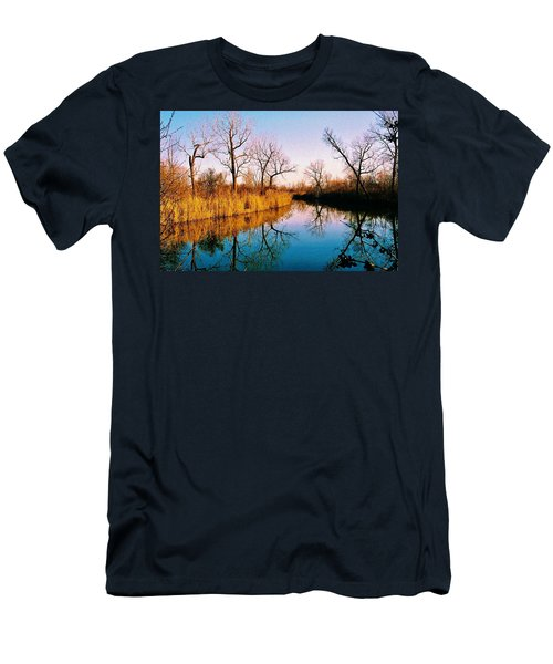 Men's T-Shirt (Slim Fit) featuring the photograph November by Daniel Thompson