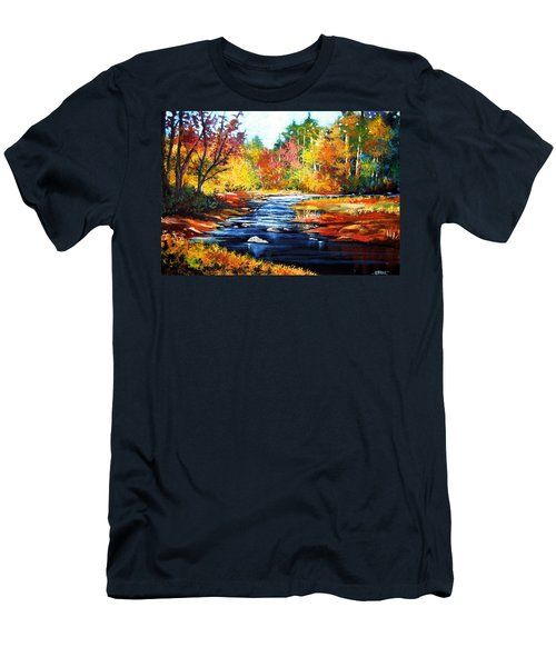 October Bliss Men's T-Shirt (Slim Fit) by Al Brown