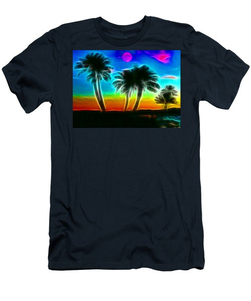 Men's T-Shirt (Slim Fit) featuring the photograph Paradise by Tammy Espino