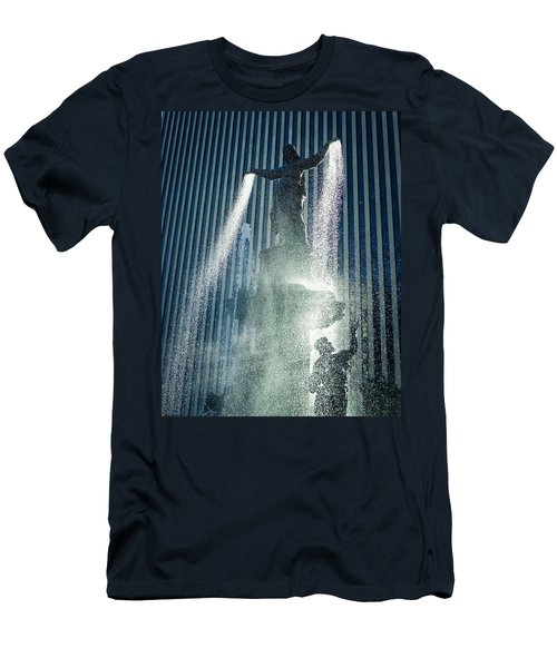 The Genius Of Water  Men's T-Shirt (Athletic Fit)