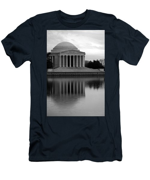 Men's T-Shirt (Slim Fit) featuring the photograph The Jefferson Memorial by Cora Wandel